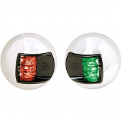 Attwood 1 NM LED Red/Green Vertical Sidelights, Stainless Steel