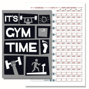 Gym Diary, Weight Training Diary Log Book, A5 Daily Workout Diary - 117