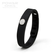Power Ionics® Titanium Magnetic Bracelet Bracelet Bracelet New Power Ionics Bracelet Energy Wristband Bracelet 3000 ions Smart Sports Bracelet Wristband PT066 Lover For Him And Her For Some, Black