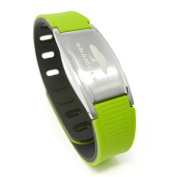 Health Bracelet With Sports Silicone Strap - Negative ION Magnetic Power Therapy Band
