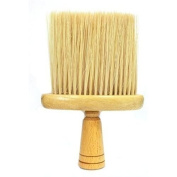 WOODEN NECK DUSTER/BARBERS NECK BRUSH/PROFESSIONAL HAIRDRESSING NECK DUSTER