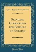 Standard Curriculum for Schools of Nursing