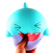 squarex Big Lovely Happy Animal Scented Squishy Slow Rising Squeeze Toys Collection