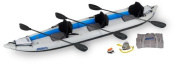 Sea Eagle 140m FastTrack Inflatable Kayak Pro Carbon Package
