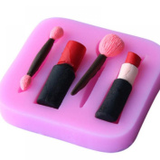 GOOTRADES Decorating Cookies Chocolate Baking Lipstick Silicone Cake Mould