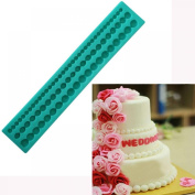 MAXGOODS Popular Pearl Chain Shape Cake Decoration Mould Fondant Chocolate Silicone Moulds