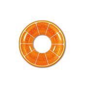 110cm Orange Fruit Inflatable Swimming Pool Inner Tube Ring Float