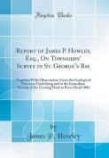 Report of James P. Howley, Esq., on Townships' Survey in St. George's Bay