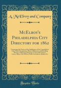 McElroy's Philadelphia City Directory for 1862