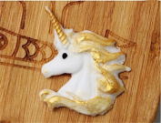 Arpoador White Unicorn Style Silic1 Chocolate Mould DIY Fondant Candy Mould Cake Decor Icing Dessert Sugarcraft Mould Baking Tools