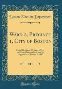 Ward 2, Precinct 1, City of Boston