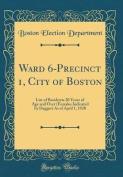 Ward 6-Precinct 1, City of Boston