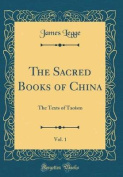 The Sacred Books of China, Vol. 1