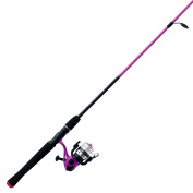 Zebco Sales Co. LLC SPLASH PINK 20-602ML SPIN COMBO 21-27090