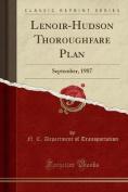 Lenoir-Hudson Thoroughfare Plan
