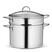 Kela Cailin Pasta Pot, Stainless Steel, Silver, 24 cm