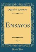 Ensayos, Vol. 7  [Spanish]