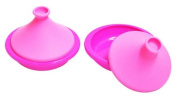 Silicon mini mini tagine pot magenta Pink 2P