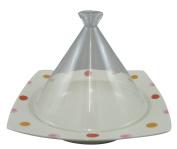 Range only dream tagine pot (corner) 20cm glass lid marble dot ID-21-24