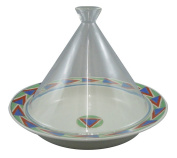 Range only dream tagine pot (round) 20cm glass lid red windmill ID-21-03