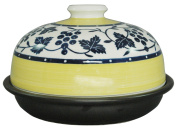 Hasami grilled open fire & amp; range for dome-shaped bamboo steamer tagine pot (small) 21cm Oriental fruit ID-16-01