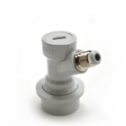 Ball Lock Quick Disconnect Grey Gas In 0.6cm Thread