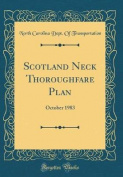 Scotland Neck Thoroughfare Plan