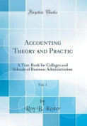 Accounting Theory and Practic, Vol. 1