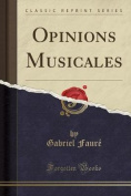 Opinions Musicales  [FRE]