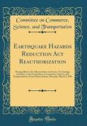 Earthquake Hazards Reduction ACT Reauthorization