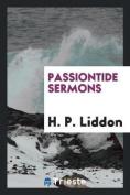 Passiontide Sermons