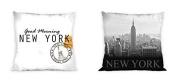 New York Reversible Decorative Cushion Cover Pillow Case Home Decor