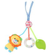 Lalang Clip on Pram Toys Baby Pushchair Musical Toys Stroller Crib Hanging Teether Toys