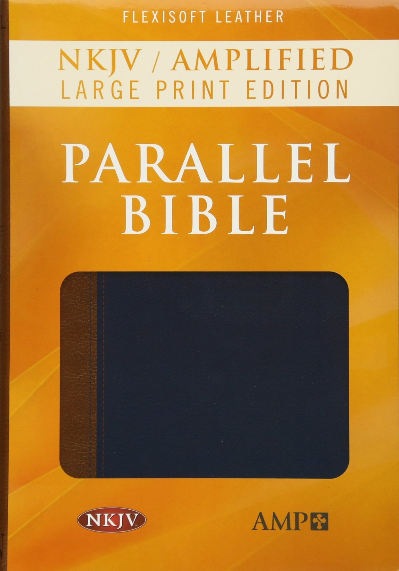 NKJV Amp Parallel Bible Lgpt Flexisoft