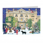 Highgrove House at Christmas Card Alison Gardiner Designs Ltd