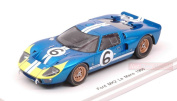 SPARK MODEL S5182 FORD MK2 N.6 RETIRED LM 1966 M.ANDRETTI-L.BIANCHI 1:43 MODEL