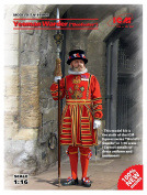 'ICM 16006 Figure Yeoman Warder Beefeater ""