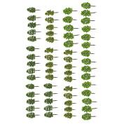 Sharplace 60x Model Trees DIY Railway Scenery Landscape Accssory 8cm 1/150 N Scale
