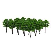 Sharplace 40pcs Model Tree Architecture Train Railway Wargame Diorama