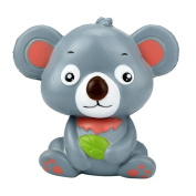 Free Slime Toy,12cm Cute Koala Cream Scented Squishy Toy Slow Rising Squeeze Strap Kid Toy Gift