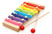 Kids Musical Toys Xylophone Baby Wisdom Development Wooden Instrument