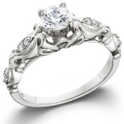 Olivia Beautiful Engagement Ring AAA CZ Ring - Ginger Lyne Collection