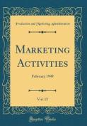 Marketing Activities, Vol. 12