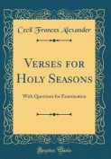 Verses for Holy Seasons