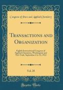 Transactions and Organization, Vol. 28