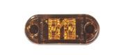 Innovative Lighting 200-1181-7 6.4cm . Oval LED Marker Light - Amber