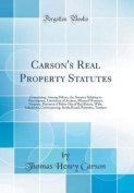 Carson's Real Property Statutes