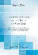 Statutes at Large of the State of New York, Vol. 1