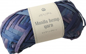 Manila Hemp Yarn Stained Dyed 506 Blueberry 20 g 50 m