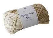 Manila hemp yarn 511 milk 20 g 50 m